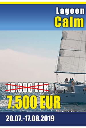 LAGOON 450 FLY Calm Point