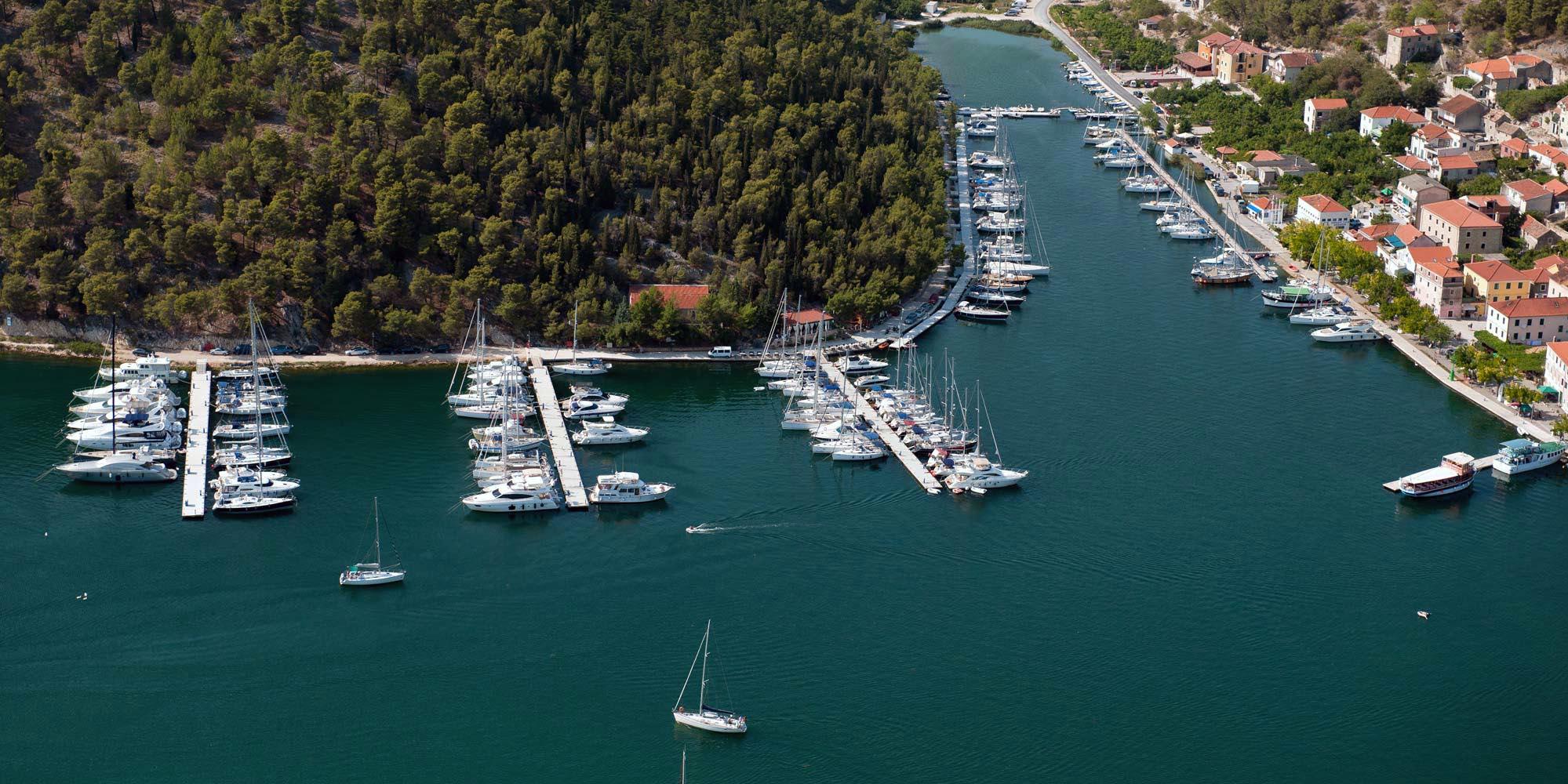 Croatia Sailing Destinations -  Skradin