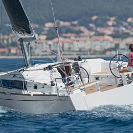 """Brand new Oceanis 38.1's """"Obsession"""" and """"Pleasure"""" in ACI Trogir"""