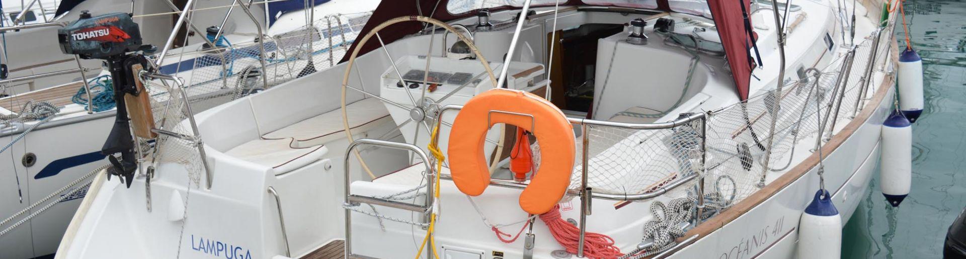 """Oceanis 411 """"Lampuga"""""""