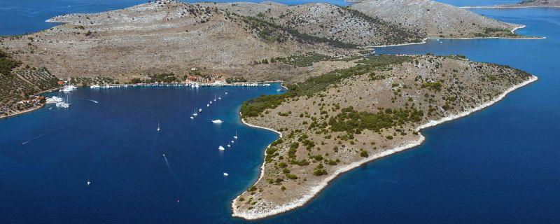 Croatia sailing destinations: Žut