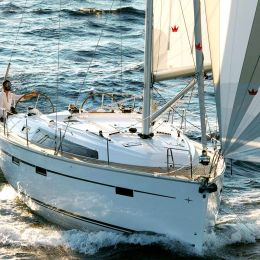 """Bavaria Cruiser 41 """"My Point"""" is a brand new addition to our fleet in Trogir"""